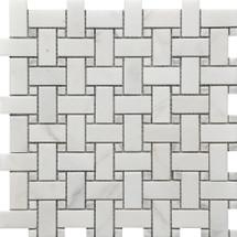 Basket Weave Marble Mosaic 12x12 (USTMBSWE002)