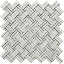 Crossed Basket Weave Mosaic 12x12 (USTMCBWI003)