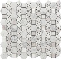 Kaleidoscope Marble Mosaic 12x12 (USTMCREY008)