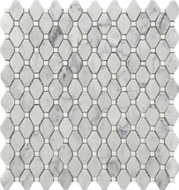 Small Marble Rhombus Mosaic 12x12 (USTMRMBS007)