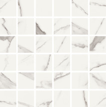 Statuario High Honed Finish 2x2 Mosaic 11.8x11.8 (VSTAT22M)