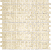 Roma Travertino Brick Mosaic 1/2x7/8 (ROTRMOSBRICK)