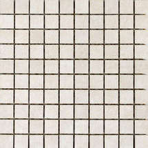 Icon Bone White 1x1 Mosaic (UNIC1MBW)