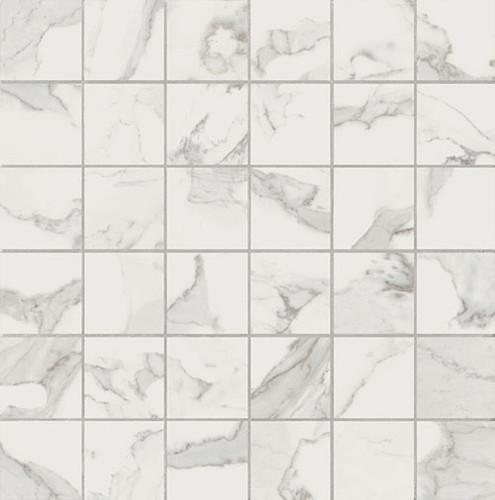 Calacatta Honed 2x2 Mosaic (VALCAL22M)