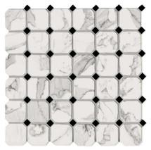 Calacatta Honed Ottagona Mosaic 11.8x11.8 (VALCALOTT)