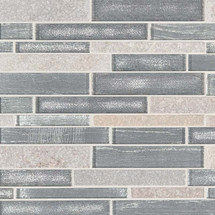 Evita Ice Interlocking Patterned Mosaic (SMOT-SGLSIL-EVICE8MM)