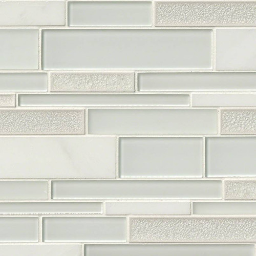Fantasia Blanco Interlocking Patterned Mosaic (SMOT-SGLSIL-FANBLA8MM)