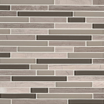 Modello Grigio Interlocking Patterned Mosaic (SMOT-SGLSIL-MODGRI6MM)