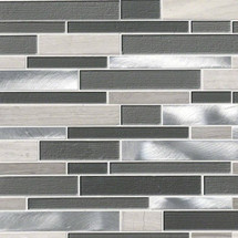 Urban Loft Interlocking Patterned Mosaic (SMOT-SGLSMTIL-URBLOF4MM)