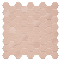 Hexa Rosy Blush Hexagon Mixed Mosaic (HXRBMIXMOS)