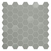 Hexa Wild Sage Hexagon Mixed Mosaic (HXWSMIXMOS)