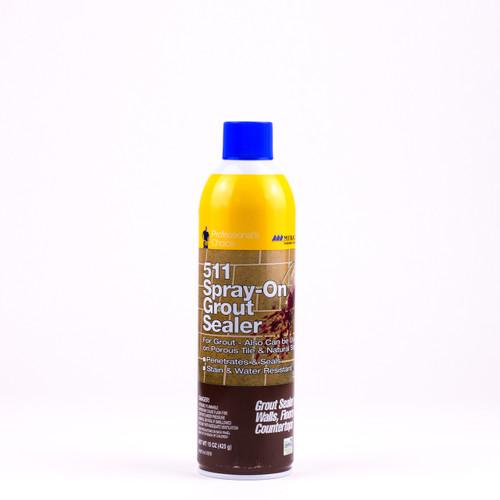 511 Spray-On Grout Sealer Aerosol Spray (GRTSLRAEROCS)