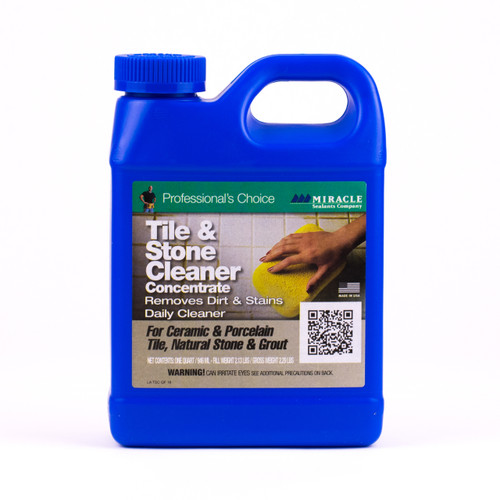 Tile and Stone Cleaner Concentrate 1 Quart (TSCQT)