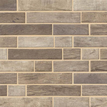 Driftwood Interlocking Patterned Mosaic (SMOT-GLSIL-DRIFT6MM)
