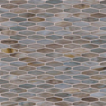 Mochachino Hexagon Pattern Mosaic (SMOT-GLSB-MOCHACHINO)