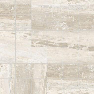 Breccia White Matte Mosaic 2X2 (1100549)