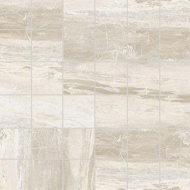 Breccia White Polished Mosaic 2X2 (1100552)