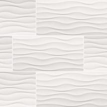 Dymo Wavy White 12x24 Glossy (NDYMWAVWHI1224G)