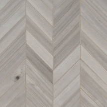 Havenwood Platinum Chevron 12x15 Mosaic (NHAVPLACHE12X15)