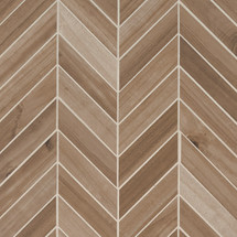 Havenwood Saddle Chevron 12x15 Mosaic (NHAVSADCHE12X15)