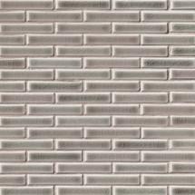 Highland Park Dove Gray Brick Pattern Mosaic (SMOT-PT-DG-BRK)