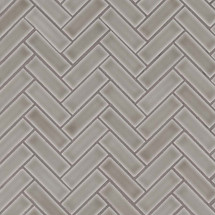 Highland Park Dove Gray Herringbone Mosaic (SMOT-PT-DG-HB)