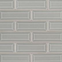 Highland Park Morning Fog 2x6 Beveled Mosaic (SMOT-PT-MOFOG-2X6B)