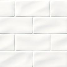 Highland Park Whisper White Subway Tile 3x6 (SMOT-PT-WW36)