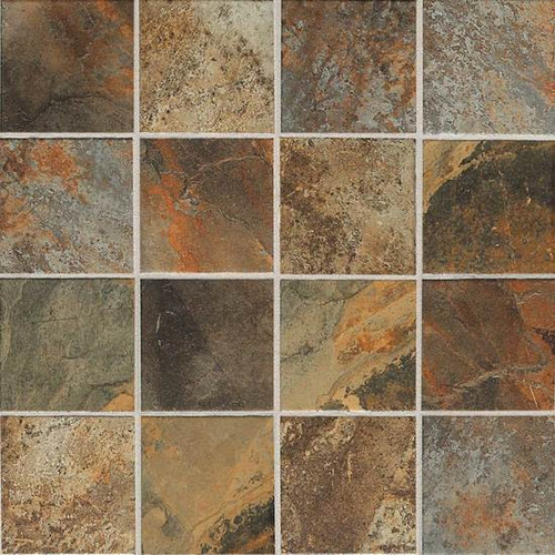 Kendal Slate Carlisle Black Mosaic 3x3 Tiles Direct Store