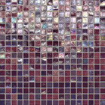 """City Lights - Tokyo Paper Face Mosaic 1/2"""" x 1/2"""" On 11-1/2"""" x 11-1/2"""" Sheet"""