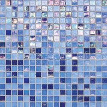 "City Lights - Capri Mesh Mounted Mosaic 1/2"" x 1/2"" On 11-1/2"" x 11-1/2"" Sheet"