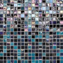 "City Lights - Las Vegas Mesh Mounted Mosaic 1/2"" x 1/2"" On 11-1/2"" x 11-1/2"" Sheet"