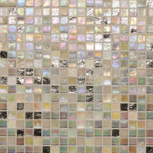 """City Lights - Hollywood Paper Face Mosaic 1/2"""" x 1/2"""" On 11-1/2"""" x 11-1/2"""" Sheet"""