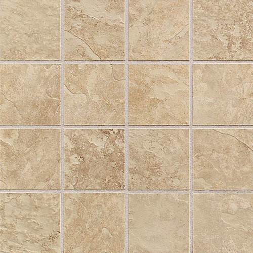 Continental Slate Egyptian Beige 3x3 Mosaic Tiles