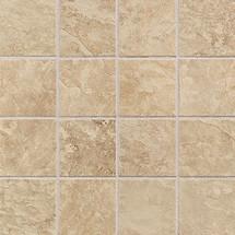 Continental Slate - Egyptian Beige 3x3 Mosaic