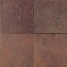 Continental Slate - Indian Red 12x12