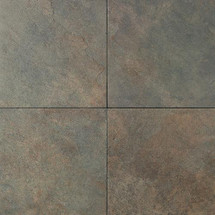 Continental Slate - Brazillian Green 12x12