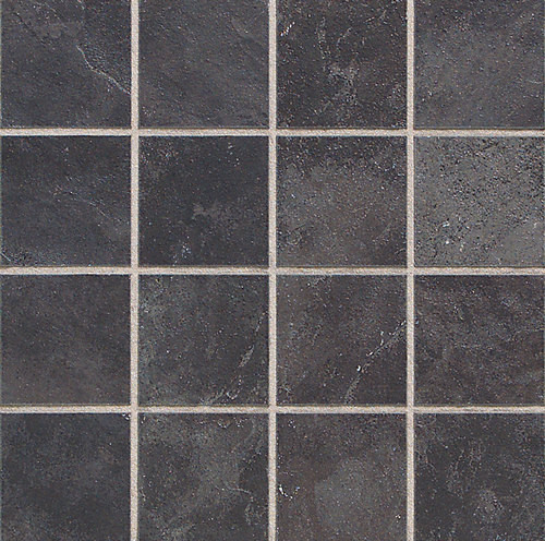 Continental Slate - Asian Black 3x3 Mosaic - Tiles Direct Store