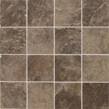 Continental Slate - Moroccan Brown 3x3 Mosaic