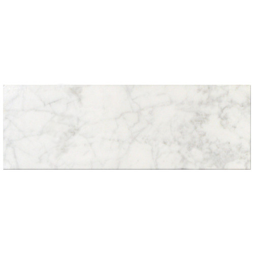 Bianco carrara honed 6x12 tiles direct store for Carrara marble per square foot
