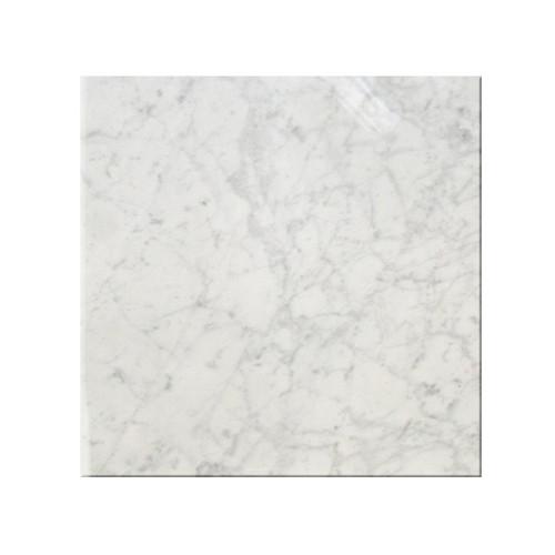 Bianco carrara polished 12x12 tiles direct store for Carrara marble per square foot