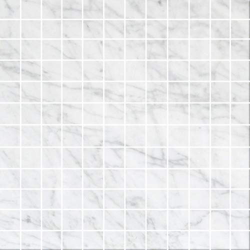 Bianco carrara polished 1x1 tiles direct store for Carrara marble per square foot