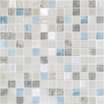 Glass Onix Essence Carrara Macauba 1x1 Mosaic Blend