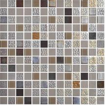 Glass Onix Mystic Sinai 1x1 Mosaic Blend