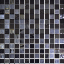 Glass Onix Nature Navia 1x1 Mosaic Blend