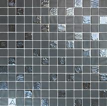 Glass Onix Nature Upsala Grey 1x1 Mosaic Blend