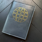 Passport Case - Globe