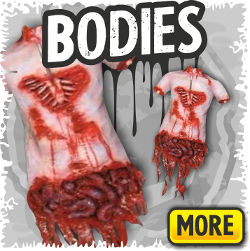Gory Body Props for Haunted Houses or Halloween