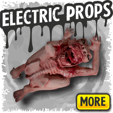 Electric Animated Halloween Props