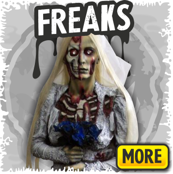 Freaks Props for Halloween and Haunted Houses